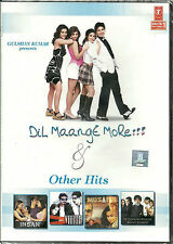 DIL MAANGE MORE!!! & OTHER HITS-BOLLYWOOD HIT SONG DVD-FREE UK POST