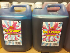 More details for 2 x 6kg bottle topping syrup - ice cream van sauce mr whippy -new sealed -