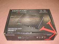 KENWOOD XR600-1 SUBWOOFER MONO AMP, CLASS D MONO POWER AMPLIFIER *BRAND NEW*