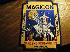 Magicon Jacket Patch - 1992 Science Fiction Convention Orlando FL USA Sewn Patch