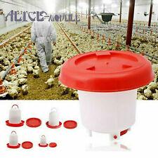 Chicken 1kg Feeder+1.5L Drinker Poultry Chick Hen Quail Bantam Food Kettle B2AM