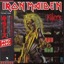Iron Maiden KILLERS Gatefold mini-LP Japan CD Sealed w/OBI & Poster