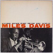 MILES DAVIS: Volume 1 Blue Note 1501 Jackie McLean DG W63 EAR Jazz LP NM- Vinyl