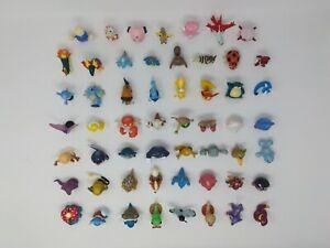 Lot of 55 Pokemon TOMY Kanto Jhoto PVC Action Figures Collection Set Go Vintage
