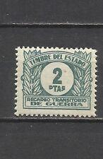 4017-SELLO FISCAL RECARGO TRANSITORIO DE GUERRA ** AÑO 1938  EDIFIL .2 PTS.WAR