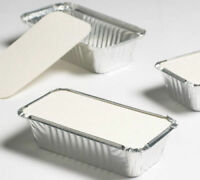 Aluminium Foil Food Containers+Lids Perfect For Home And Takeaway Use All Sizes