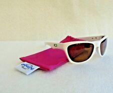 Oakley Jupiter LX Sunglasses Brazil Olympic White 57-15-130 w/ Pink Case NEW
