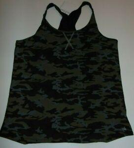 ~NWT Women's CALVIN KLEIN Sleepwear Camo Top! Size Large Super Cute FS:)~