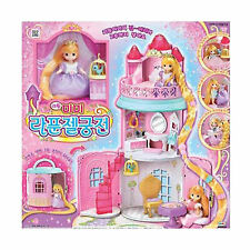 Little MIMI Rapunzel Palace Set Barbie Doll Role Korean Animation toy Girl