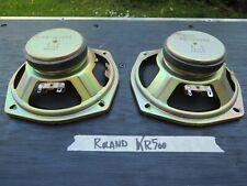 2 SPEAKERS for ROLAND Japan KR Series and compatibles 8 ohms PD 16209a r9407