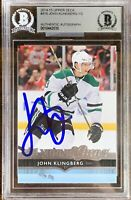 2014 2015 John klingberg BGS  Auto Young Guns Rookie Card RC AUTOGRAPH PSA 10?