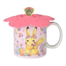 Pokemon Center Original PIKACHU & EEVEE'S EASTER Mug w/Cover Pikachu