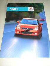 Suzuki Swift 5 door brochure c2005 New Zealand market