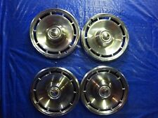 """1971 1972 chevy Chevrolet  Chevelle Malibu 14"""" Wheel Covers hubcaps SET  of 4"""