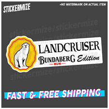 LANDCRUISER RUM EDITION Sticker Decal 4x4 4WD Beer YTB Car Ute Toyota
