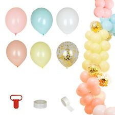 110 pcs Assorted Balloons Garland Arch Party Decorations Kit Wedding Supplies