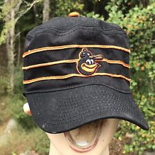 Vtg Cooperstown BALTIMORE ORIOLES HAT Cap Pillbox Twins Snapback 3 stripe HTF