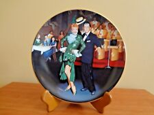 """""""Night at the Copa"""" 1991 The Hamilton Collection Plate I Love Lucy by Jim Kritz"""