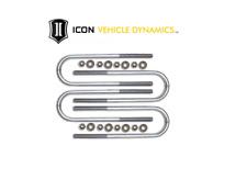 "ICON 15"" Long Rear U-bolt Kit For Super Duty F250 / F350 (Non Dually)"