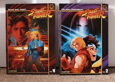UDON Comics Street Fighter: Vol 1 Round One: FIGHT! & Vol 2 The New Challengers!