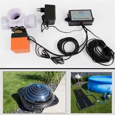 Solar Differenzregler m. 3Wege-Ventil für Pool Poolheizung Solarkollektor Bypass