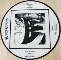 "CULTURE CLUB BAUHAUS RARE 7"" MISPRESS / MISPRINT PICTURE DISC VINYL - Boy George"