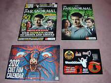 The PARANORMAL SFX magazine set, with calendar + stickers