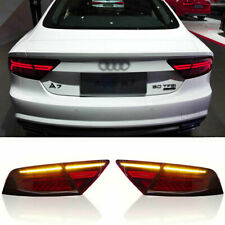 LED Taillights Assembly For Audi A7 2012-2018 Red Replace OEM Rear lights