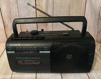 Sony AM-FM Radio Cassette tape player CFM-10  boom box