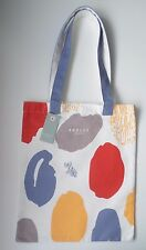 RADLEY - DNA FINGER PRINT - COTTON CANVAS TOTEBAG - RADLEY DOG & DNA PRINT