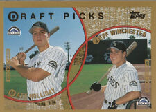 Matt Holliday/Jeff Winchester - 1999 Topps - # 442 - ROOKIE