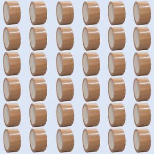 (0,02€/1m) 36x müroll 100 Paketband Packband PVC Verpackungsband 50mm x 66m