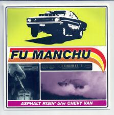 FU MANCHU ASPHALT RISIN' CHEVY VAN 1996 MAMMOTH RECORDS MR0139-7 STONER ROCK 45