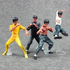 Bruce Lee Action Figure Set of 4PCS Kung Fu Collector Edition USA