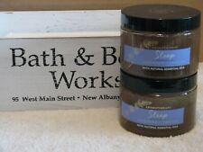 2 Bath Body Works Aromatherapy LAVENDER VANILLA  Sugar Scrub 13 oz Oils SLEEP