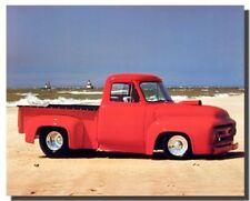 Ford F-100 Vintage Pickup Truck Harley Koopman Wall Decor Art Print Poster 16x20