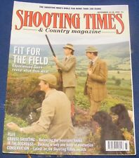 SHOOTING TIMES MAGAZINE SEPTEMBER 12-18 1991 - FIT FOR THE FIELD