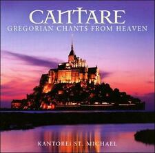 Cantare - Gregorian Chants Fro - Kantorei St. Michael - Audio CD Free Shipping