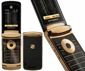Pristine Condition Motorola RAZR2 V8 - Gold (Unlocked) Mobile Phone