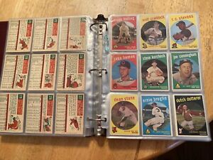 1959 Topps Baseball Starter Set 462/572 EX/NR NO DUPLICATES