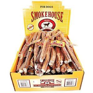 Smokehouse Bully Sticks Shelf Display Box 12in/60ct