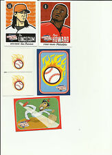 TRIPLE PLAY TRADING CARDS (5)