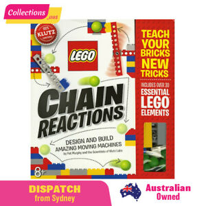 GENUINE LEGO Klutz - Chain Reactions Design & Create Activity Book by Pat Murphy