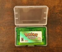 Pokemon Emerald Version | Nintendo Gameboy Advance GBA | Tested Reproduction