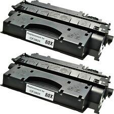 2 TONER PER HP CF280X LASER JET PR 400 M401a M401d M401n M401dn M401dw MFP M425d
