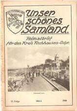 Unser schönes Samland - Königsberg Ostpreußen - Fischhausen März 1968