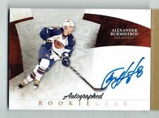 10-11 UD The Cup Autographed Rookie Gear  Alexander Burmistrov  /25
