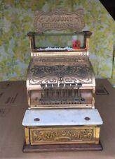 Restored Brass National Cash Register Model 130 , Art Nouveau NCR