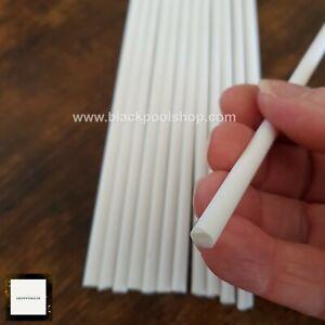 "QUALITY White Plastic CAKE DOWELS 12"" Support Wedding Sugarcraft DOWELLING"