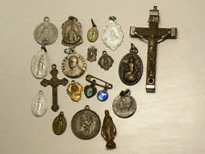🍁 Religious Medals Christianity Medallions Lot of 18 #2436